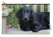 Flat-coated Retriever Puppy Carry-all Pouch