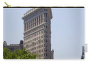 Flat Iron Building Carry-all Pouch by Bill Cannon