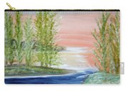 Flathead Lake Sunset Carry-all Pouch
