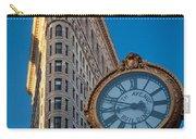 Flatiron Clock Carry-all Pouch