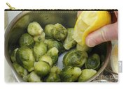Flavoring Brussels Sprouts Carry-all Pouch