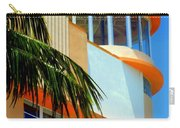 Flavour Of Miami Carry-all Pouch by Karen Wiles