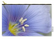 Blue Flax Close-up Carry-all Pouch