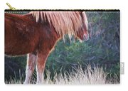 Flaxen Strands Carry-all Pouch