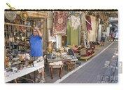 Flea Market Shop In Tel Aviv Israel Carry-all Pouch