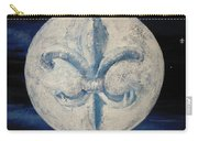 Fleur De Lies Moon Carry-all Pouch
