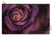 Fleur Pourpre Carry-all Pouch