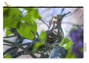Flicker In The Lilacs Carry-all Pouch