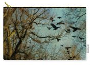 Flight Of The Forest Crows Carry-all Pouch