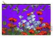 Flight Over Poppies Carry-all Pouch