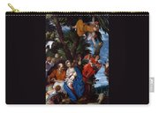 Flight To Egypt With Angels Carry-all Pouch