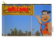 Flinstones Bedrock City In Arizona Carry-all Pouch