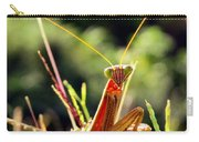 Flirty Mantis Carry-all Pouch