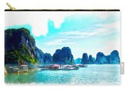 Floating In Ha Long Carry-all Pouch