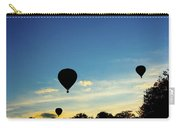 Floating In The Air At Sundown Carry-all Pouch