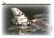Floating In Water - Swallowtail -butterfly Carry-all Pouch