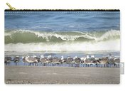 Flock And Wave Carry-all Pouch