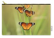 Flock Of Plain Tiger Danaus Chrysippus Carry-all Pouch