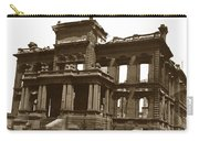 James Clair Flood Mansion Atop Nob Hill San Francisco Earthquake And Fire Of April 18 1906 Carry-all Pouch