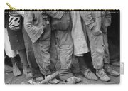 Flood Refugees, 1937 Carry-all Pouch