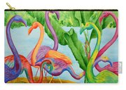 Floosie Flamingos Carry-all Pouch