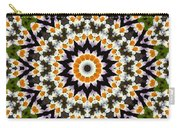 Flora Kaleidoscope Carry-all Pouch