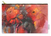 Floral 01 Carry-all Pouch by Miki De Goodaboom