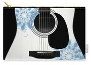 Floral Abstract Guitar 25 Carry-all Pouch