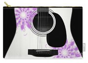 Floral Abstract Guitar 26 Carry-all Pouch