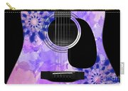 Floral Abstract Guitar 27 Carry-all Pouch