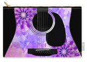 Floral Abstract Guitar 29 Carry-all Pouch
