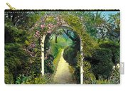 Floral Arch And Path Carry-all Pouch