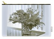 Floral Arrangement With Blinds Reflection Carry-all Pouch