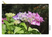 Floral Art Photography Pink Lavender Hydrangeas Carry-all Pouch