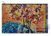 Floral Bliss Carry-all Pouch