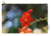 Floral Bokeh  Carry-all Pouch