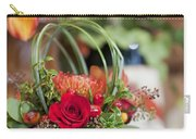 Floral Centerpiece Carry-all Pouch