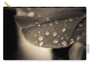 Floral Close-up Iv Carry-all Pouch by Marco Oliveira
