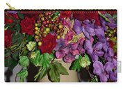 Floral Decor Carry-all Pouch