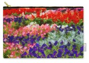 Floral Fantasy Carry-all Pouch by Dan Sproul