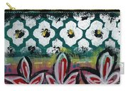 Floral Fiesta- Colorful Pattern Painting Carry-all Pouch