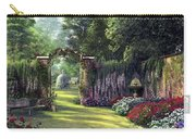 Floral Garden Carry-all Pouch