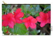 Floral Hedge Carry-all Pouch