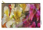 Floral Inspiration - Square Version Carry-all Pouch