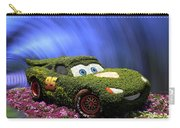 Floral Lightning Mcqueen Carry-all Pouch