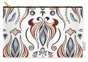 Floral Pattern II Carry-all Pouch