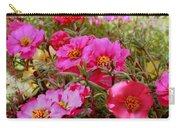 Floral Portulaca Garden Carry-all Pouch