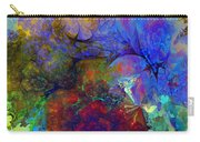 Floral Psychedelic Carry-all Pouch