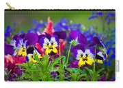 Floral Salad Carry-all Pouch