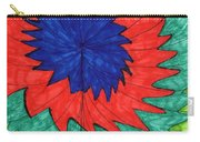 Floral Spin Carry-all Pouch
